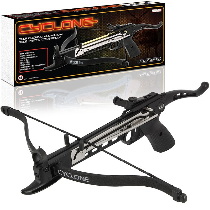 Anglo Arms CYCLONE 80lb Crossbow Pistol