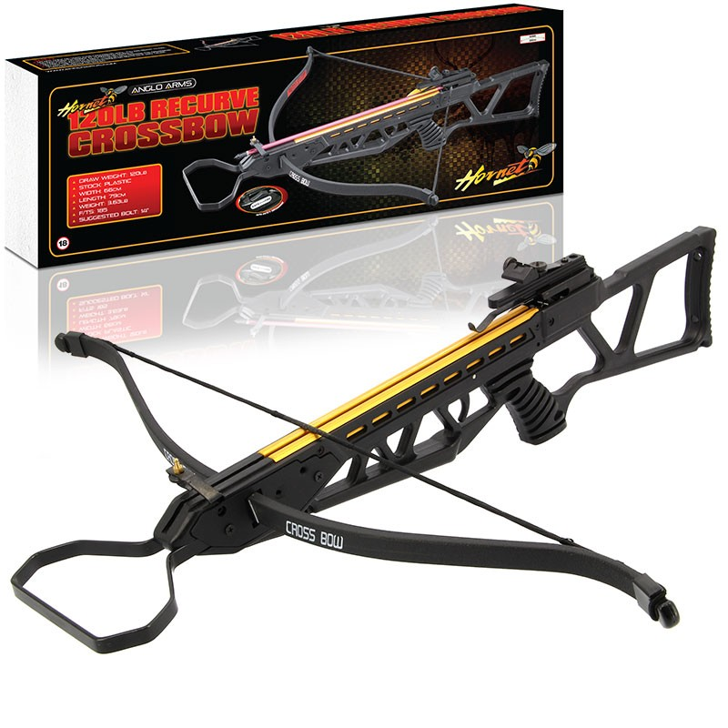 Anglo Arms HORNET 120lb Recurve Crossbow