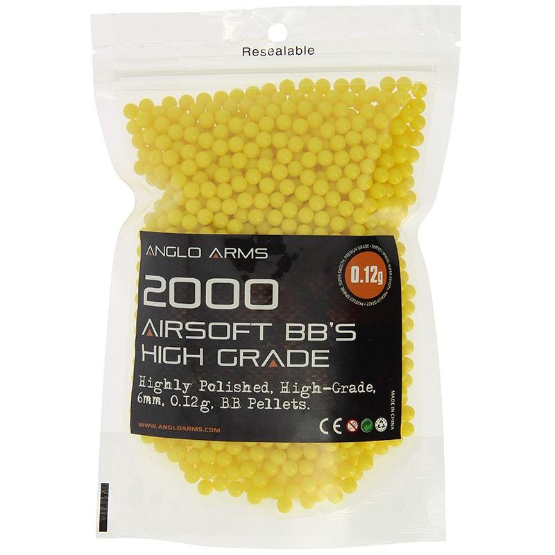Anglo Arms 2000 High Grade Polished 0.12g Yellow BB's