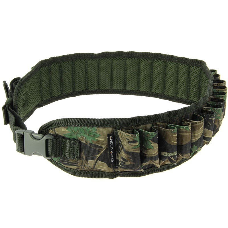 Camo 12 Bore Shotgun Cartridge Belt