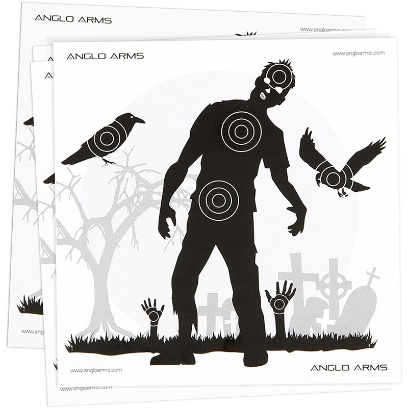 Anglo Arms 50 Zombie Paper Targets