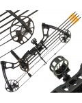 15-70lb Black Chikara Compound Bow Set