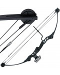 55lb Black 'Hotaka' Compound Bow