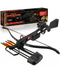 Jaguar DLX 175lb Black Recurve Crossbow