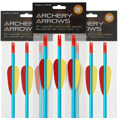 "Anglo Arms 30"" Aluminium Bow Arrows"