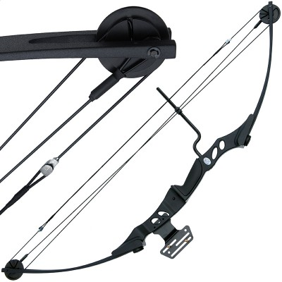 Anglo Arms 55lb Black 'Hotaka' Compound Bow