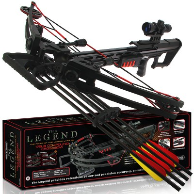 Anglo Arms LEGEND 175lb Black Compound Crossbow