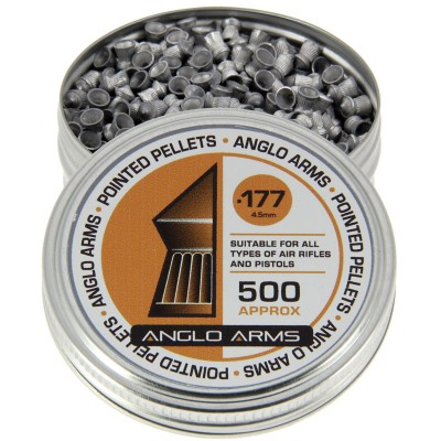 Anglo Arms .177 Pointed Pellets