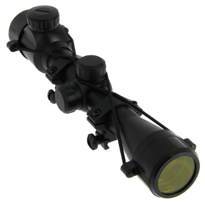 Deluxe 4 X 32 Rifle Scope with Mounts