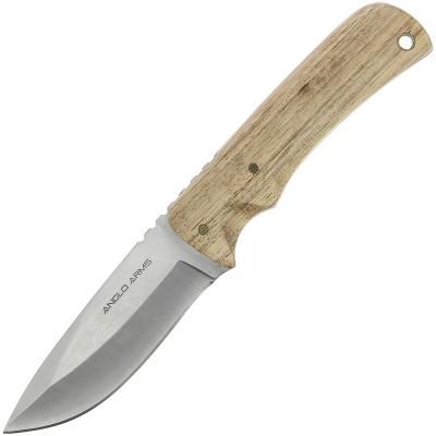 """Anglo Arms 8.25"""" Zebra Wood Knife"""