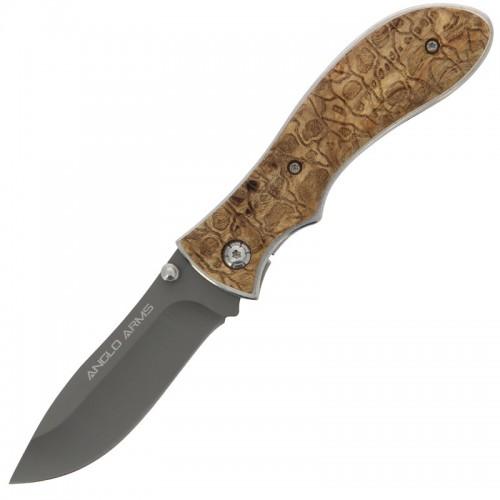 Anglo Arms Burlwood Lock Knife