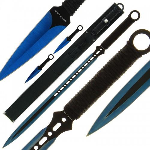 Anglo Arms Kunai Sword and Throwing Knife Set