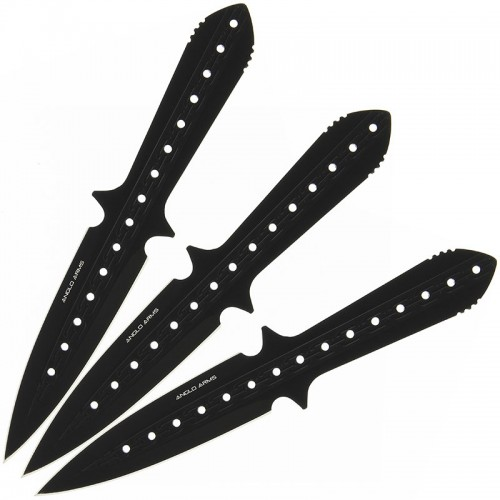 Anglo Arms Stealth Heavyweight Throwing Knife Set