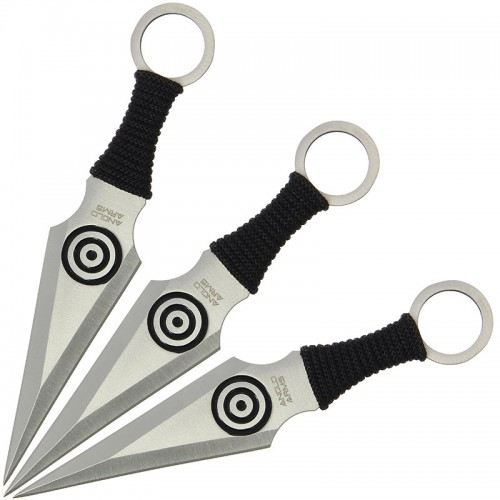 Anglo Arms Bullseye Throwing Knife Set