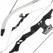 40lb White 'Tournament' Recurve Bow