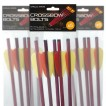 """anglo Arms 5 x 20"""" Aluminium Crossbow Bolts"""