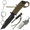 Anglo Arms Survival Fixed Blade Knife Set